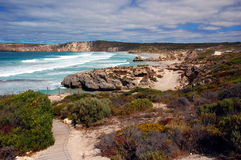 Pennington Bay, Kangaroo Island, South Australia. Kangaroo Island is one of South Australia's most popular tourist attractions, attracting over 140,000 visitors Stock Images