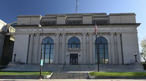 Pennington County domstolsbyggnad royaltyfria bilder