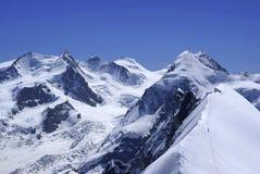 Penninische Alpen Stockbilder