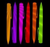 pennor stock illustrationer