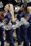Penns State hejaklacksledarear underhåller folkmassan Royaltyfri Foto
