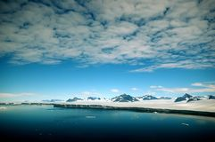 Península antártica Foto de archivo