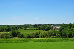 Pennsylvania-Ackerland Lizenzfreies Stockfoto