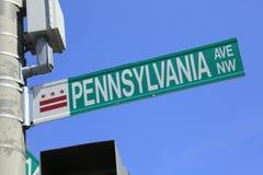 Pennsylvania ave Arkivbild