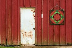 Rustic Barn Door Royalty Free Stock Images