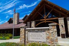 Pennsylvania-Begrüßungszentrum-Weg 15 Lizenzfreie Stockfotos