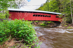Pennsylvania Covered Bridge Stock Photo