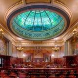 Pennsylvania delstatens högsta domstolkammare arkivbilder