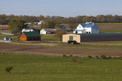 Pennsylvania Farm Land Royalty Free Stock Photography