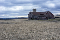 Pennsylvania farm in winter Royalty Free Stock Photos