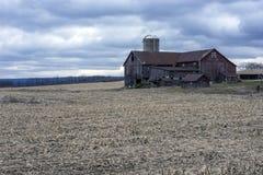 Pennsylvania farm in winter Royalty Free Stock Photos