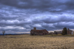 Pennsylvania farm in winter Royalty Free Stock Images