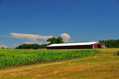 Pennsylvania farmland Stock Photo