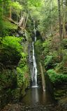 Pennsylvania Forest Waterfall - Delaware Water Gap Royalty Free Stock Image