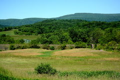 Pennsylvania-Hügel und -brücken Lizenzfreie Stockfotografie