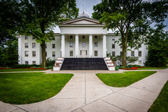 Pennsylvania Hall, on the campus of Gettysburg College, in Getty Royalty Free Stock Images