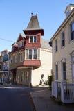 Pennsylvania. The historic Old City in Philadelphia, Pennsylvania. Elfreth`s Alley Royalty Free Stock Photography