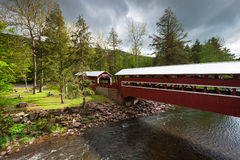 Pennsylvania Historic Wooden Covered Bridges Royalty Free Stock Image