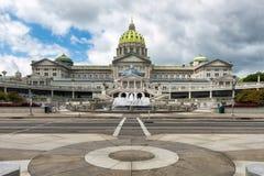 Pennsylvania-Kapitolgebäude lizenzfreies stockbild