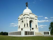 Pennsylvania Memorial on a Clear Day Royalty Free Stock Photo