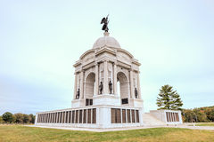 Pennsylvania Memorial Monument, Gettysburg, PA Royalty Free Stock Images