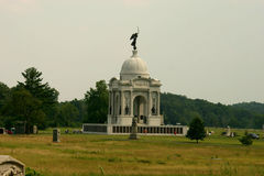 Pennsylvania Monument. Monument to the Pennsylvania Regiments in Gettysburg Royalty Free Stock Image