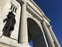 Pennsylvania Monument at Gettysburg Battlefield Gettysburg, Pennsylvania. royalty free stock photography