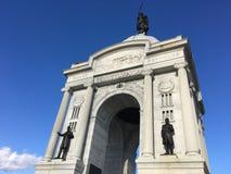 Pennsylvania Monument at Gettysburg Battlefield Gettysburg, Pennsylvania. royalty free stock images