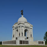 Pennsylvania Monument at Gettysburg Stock Photography