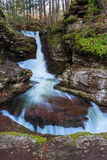 Pennsylvania Mountain Waterfall Royalty Free Stock Photo