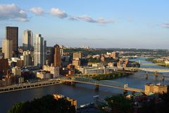 pennsylvania pittsburgh Royaltyfri Bild