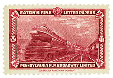 Pennsylvania Railroad Broadway Limited Royalty Free Stock Images