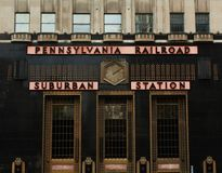Pennsylvania Railroad - Suburban Station Stock Photography