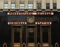 Pennsylvania Railroad - Suburban Station Stock Photography