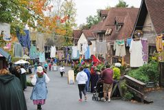 Pennsylvania Renaissance Fair Royalty Free Stock Photography