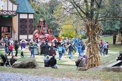 Pennsylvania Renaissance Fair Scarecrow Stock Photo