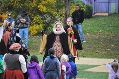 Pennsylvania Renaissance Fair Scarecrow Stock Photos