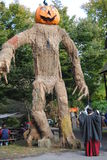 Pennsylvania Renaissance Fair Scarecrow Stock Images