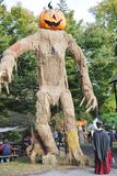 Pennsylvania Renaissance Fair Scarecrow Stock Photography