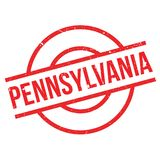 Pennsylvania rubber stamp Stock Image