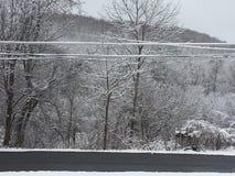 Pennsylvania snö Fotografering för Bildbyråer