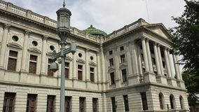 Pennsylvania State Capitol  Building in Harrisburg, USA Stock Image