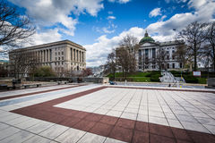 The Pennsylvania State Capitol Building and State Capitol North Royalty Free Stock Photo