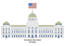 Pennsylvania State Capitol in Harrisburg Royalty Free Stock Photography
