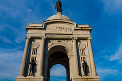 Pennsylvania State Memorial Gettysburg PA Stock Photo