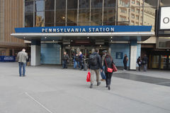 Pennsylvania Station Royalty Free Stock Photo