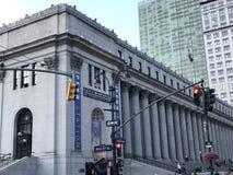 Pennsylvania Station in New York City. Pennsylvania Station in Manhattan, New York City Royalty Free Stock Photos