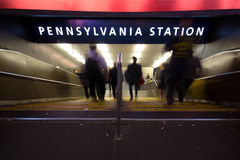 Pennsylvania Station NYC Royalty Free Stock Photo