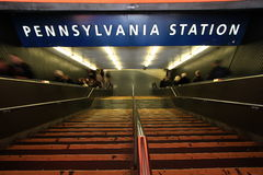 Pennsylvania Station NYC Stock Image