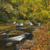 Pennsylvania Stream In Autumn Royalty Free Stock Photography
